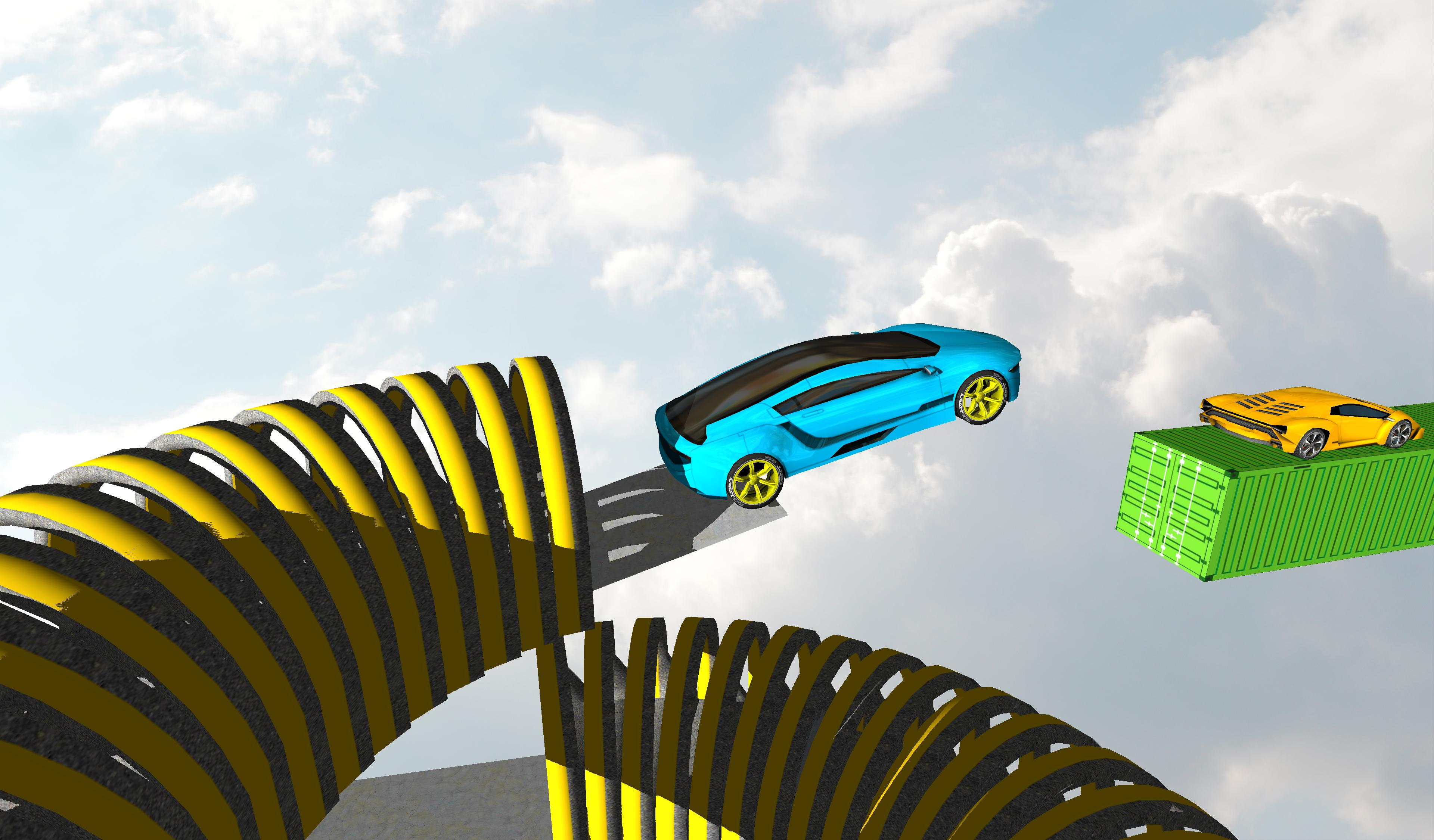 Impossible Car Stunt Driving: Track Challenge 2018 poster