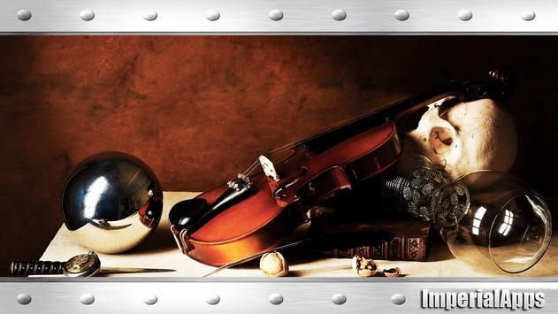 Violin Wallpaper poster