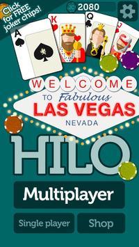 Vegas HiLo apk screenshot