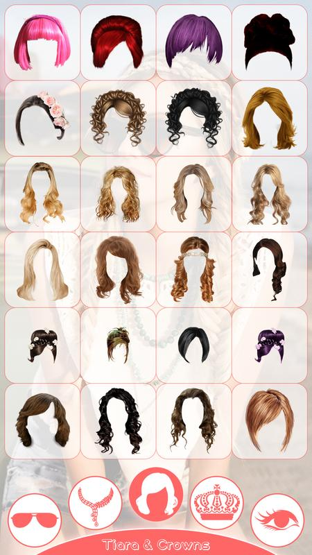 Girl Hair Style Changer 2018 Girl Photo Editor For Android Apk