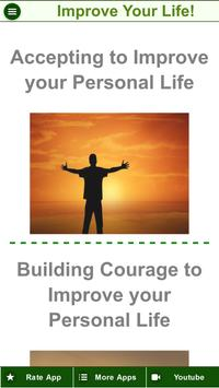 Improve Personal Life - How To Be Happy In Life? screenshot 1