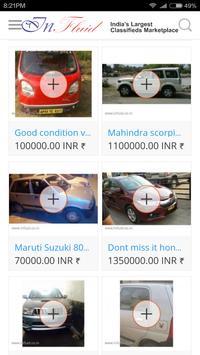 InFluid Free Classifieds apk screenshot