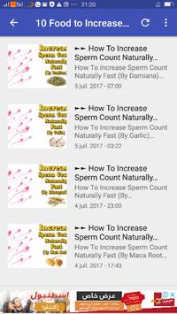 Increase Your Sperm Count for Android - APK Download