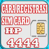 Cara Registrasi Sim Card HP icon