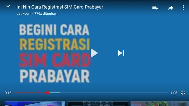 Cara Registrasi Sim Card HP screenshot 4