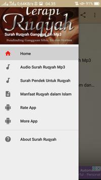 Surah Ruqyah Gangguan Jin Mp3 screenshot 1