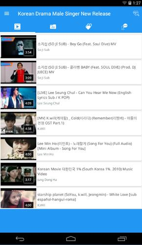 Korean Drama Male Singer New Release for Android - APK Download