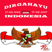 Photo Frame Independence Day Dirgahayu NKRI icon