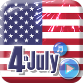 4th of July Live Wallpaper icon