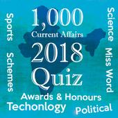India Current Affairs 2018 Quiz icon