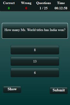 India Current Affairs 2018 Quiz screenshot 2