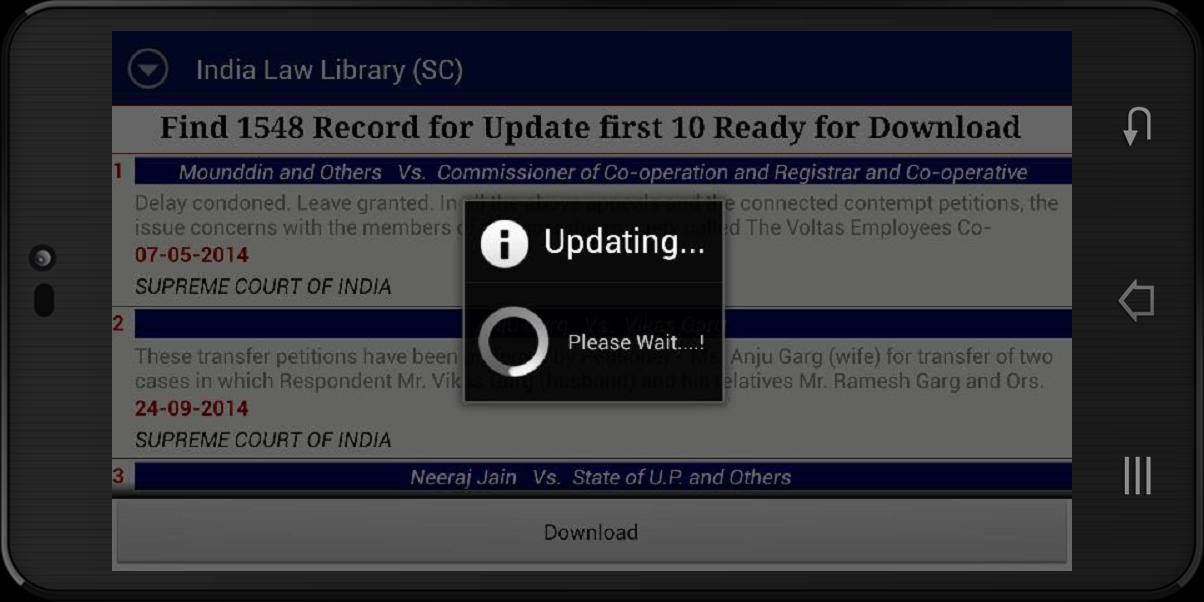 India Law Library SC for Android - APK Download