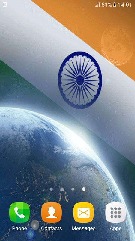 3d indian flag live wallpaper for android apk download - Indian flag hd wallpaper for android ...