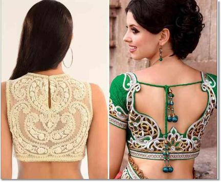 Indian Blouse Style Ideas screenshot 4