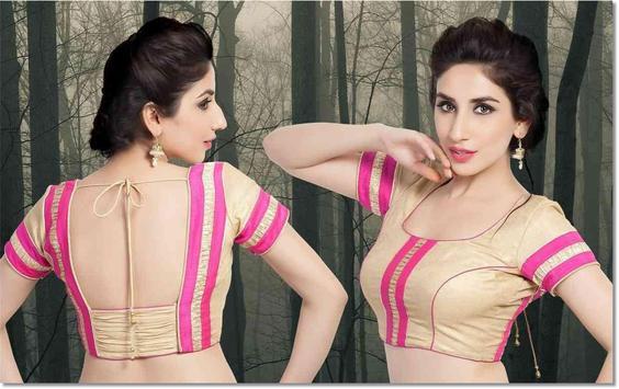 Indian Blouse Style Ideas screenshot 8