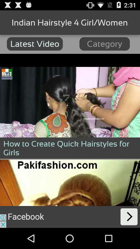 Indian Hairstyle 4 Girlwomen For Android Apk Download