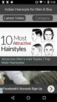 Indian Hairstyle for Men & Boy apk screenshot