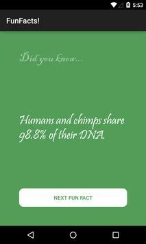Fun Facts screenshot 1