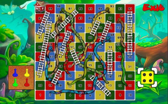 Snake Ladder Board 2017 poster