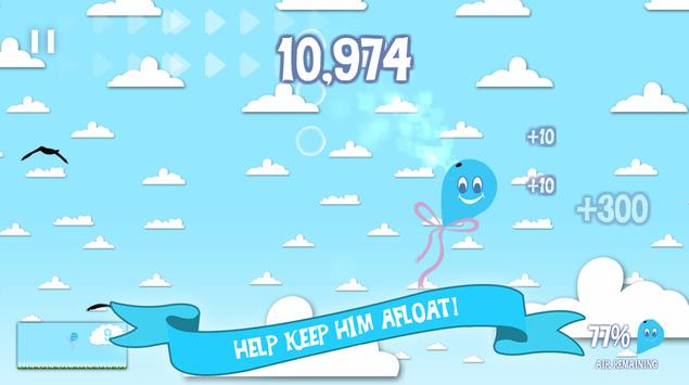 Hubie the Flat Balloon apk screenshot