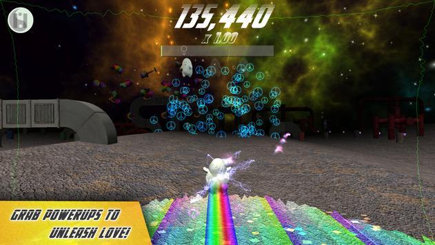 Lard Runs for Peace apk screenshot
