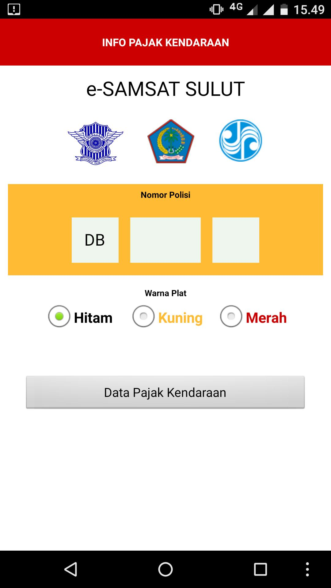 Info Pajak Kendaraan Sulut For Android Apk Download