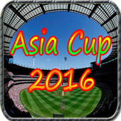 Asia cup 2016 icon