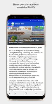 Info BMKG apk screenshot