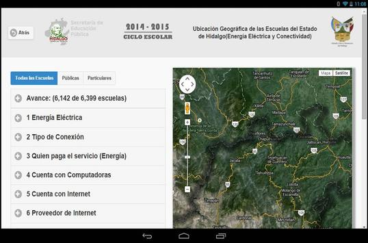Información Educativa Hidalgo apk screenshot