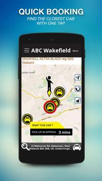ABC Taxis Wakefield screenshot 1