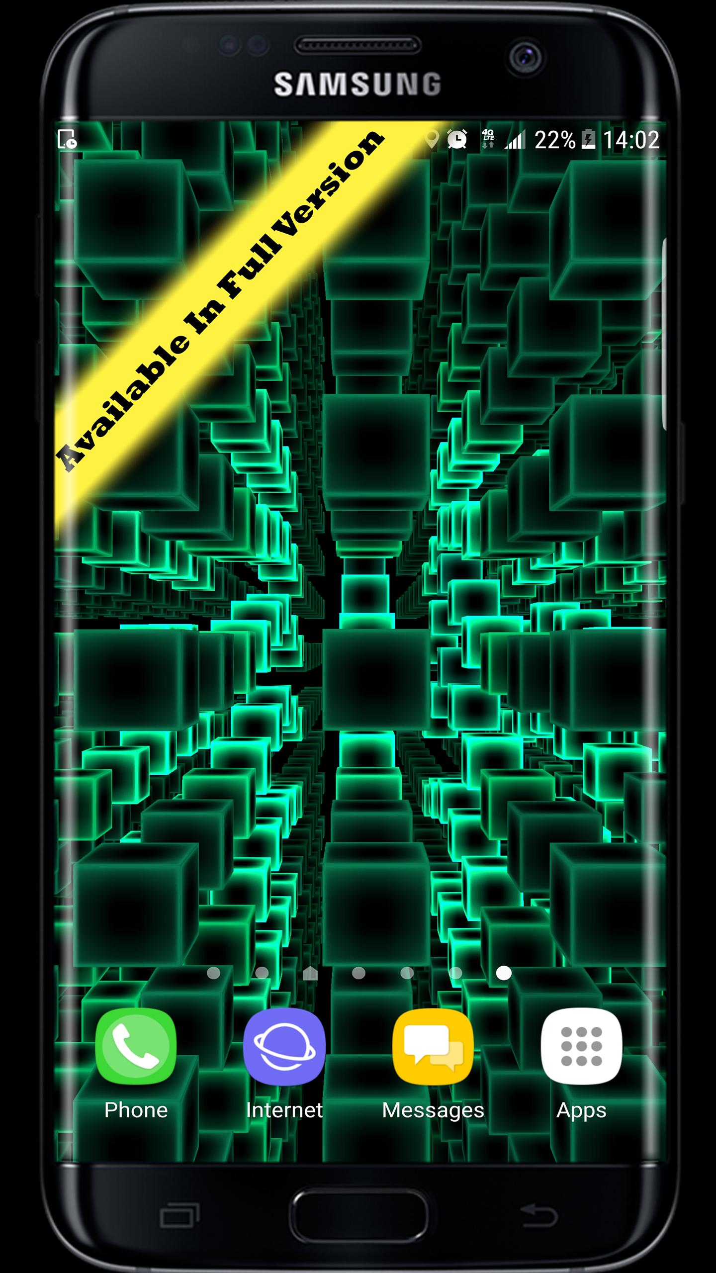 Infinity Parallax Cubes 3D Live Wallpaper for Android ...
