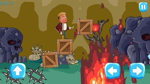 Trump - to the white house apk screenshot