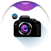 HD camera - DSLR 4k ultra HD icon