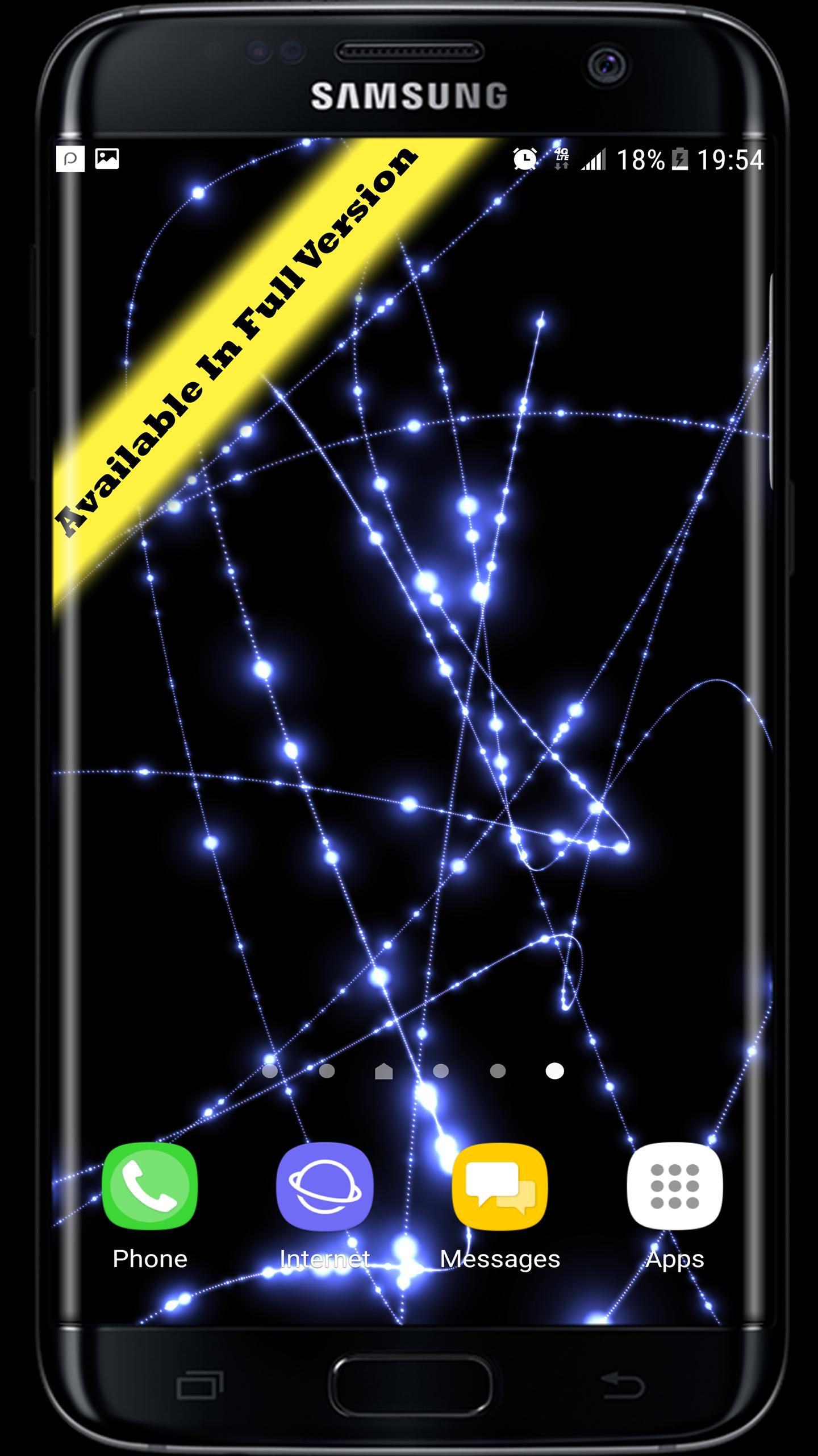 Parallax Infinite Particles 3D Live Wallpaper for Android ...