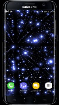 Parallax Infinite Particles 3D Live Wallpaper poster