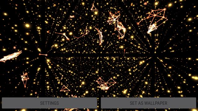 Parallax Infinite Particles 3D Live Wallpaper screenshot 10