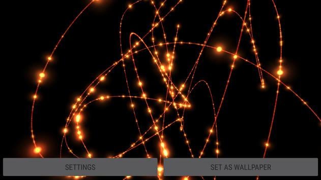 Parallax Infinite Particles 3D Live Wallpaper screenshot 15