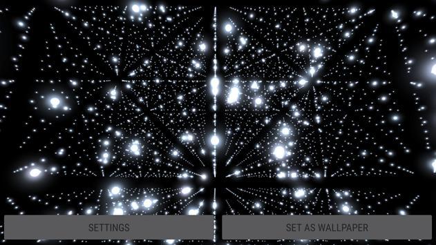 Parallax Infinite Particles 3D Live Wallpaper screenshot 18