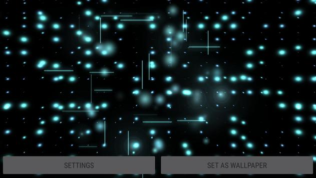 Parallax Infinite Particles 3D Live Wallpaper screenshot 22