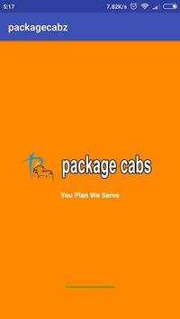 PackageCabz travel operator app for registration poster