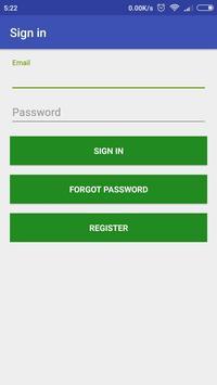 PackageCabz travel operator app for registration screenshot 1