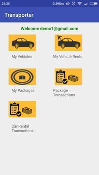 PackageCabz travel operator app for registration screenshot 3