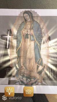 La Virgen de Guadalupe RA poster