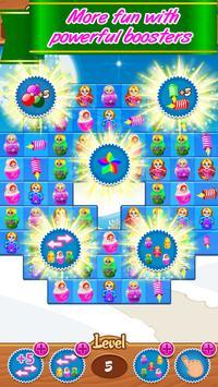 Matryoshka match 3, new puzzle game free offline screenshot 4