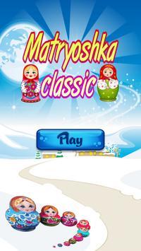 Matryoshka classic match 3 puzzle free games fun poster