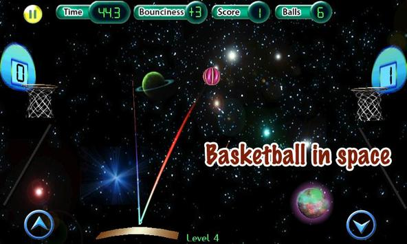 Cosmic Basketball FREE poster