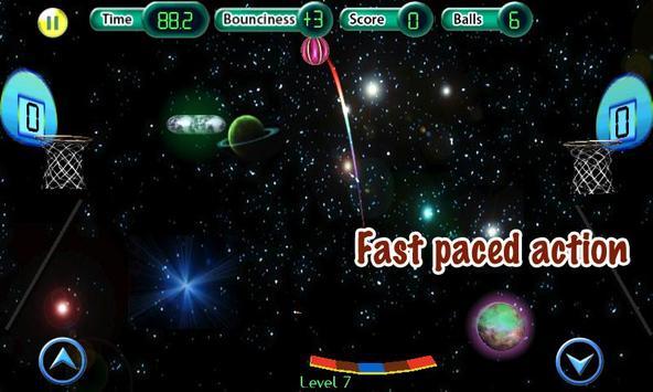 Cosmic Basketball FREE apk screenshot