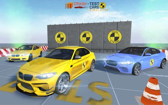 Car Crash Test M5 F90 screenshot 2