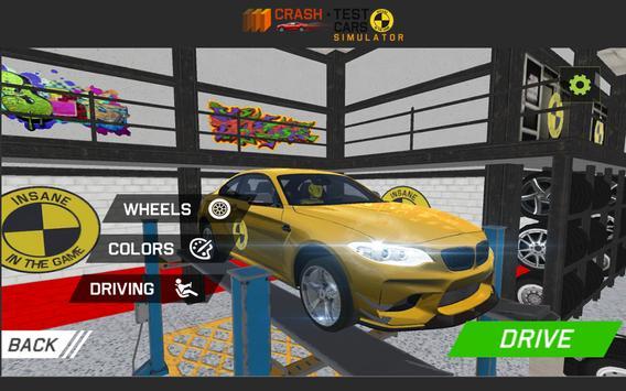 Car Crash Test M5 F90 screenshot 4