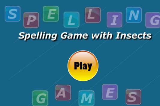 Insects Spelling Game screenshot 1